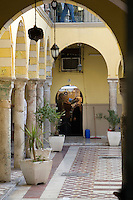 Tripoli, Libya - Medina Scene, Women in Gold Jewelry Shop