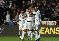 2011 12 10 Premership, Swansea City V Fulham, Liberty Stadium, Swansea, South Wales, UK.