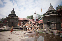 Nepal: after the earthquake - places and ruins