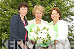 RETIRING: Principal Marie McSwiney (centre) from Balloonagh.Primary School retired from her position on Friday.afternoon. Also pictured were colleagues Rena O'Connell.(l) and Judy Costelloe (r).