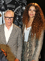 NEW YORK, NY- SEPTEMBER 8: Zendaya and Tommy Hilfiger at the TOMMYXZENDAYA NYFW 2019 Runway Show at The Apollo Theatre in New York City on September 8, 2019. <br /> CAP/MPI/WG<br /> ©WG/MPI/Capital Pictures