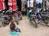 Street life and street scenes in Sittwe, the capital of Rakhine State, Myanmar (Burma)