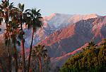 Santa Rosa Mountains at dawn