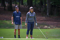 Wichanee Meechai (THA) looks over her tee shot on 18 during round 1 of the U.S. Women's Open Championship, Shoal Creek Country Club, at Birmingham, Alabama, USA. 5/31/2018.<br /> Picture: Golffile | Ken Murray<br /> <br /> All photo usage must carry mandatory copyright credit (&copy; Golffile | Ken Murray)