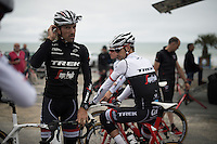 Fabian Cancellara (SUI/Trek-Segafredo) before the first training ride ahead of the 103rd Tour de France 2016