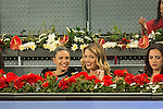 Flora Gonzalez and Alyson Eckmann during Mutua Madrid Open Tennis 2016 in Madrid. May 2, 2016. (ALTERPHOTOS/BorjaB.Hojas)