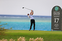 Sergio Garcia (ESP) on the 17th tee during the 1st round of  the Saudi International powered by Softbank Investment Advisers, Royal Greens G&CC, King Abdullah Economic City,  Saudi Arabia. 30/01/2020<br /> Picture: Golffile | Fran Caffrey<br /> <br /> <br /> All photo usage must carry mandatory copyright credit (© Golffile | Fran Caffrey)