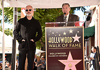 HOLLYWOOD, CALIFORNIA - DECEMBER 4: (L-R) Ryan Murphy and Leron Gubler attend a ceremony honoring Ryan Murphy with a star on The Hollywood Walk of Fame on December 4, 2018 in Hollywood, California. (Photo by Frank Micelotta/Fox/PictureGroup)