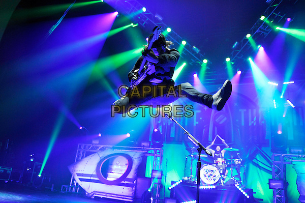 LONDON, ENGLAND - NOVEMBER 27: Vic Fuentes of 'Pierce The Veil' performing at Brixton Academy on November 27, 2016 in London, England.<br /> CAP/MAR<br /> &copy;MAR/Capital Pictures