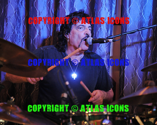 FORT LAUDERDALE FL - MARCH 04 : Carmine Appice performs at Rips Sports Bar and Grill on March 4, 2016 in Fort Lauderdale, Florida. : Credit Larry Marano © 2016