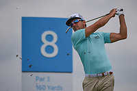 Rafael Cabrera Bello (ESP) watches his tee shot on 8 during round 1 of the AT&T Byron Nelson, Trinity Forest Golf Club, Dallas, Texas, USA. 5/9/2019.<br /> Picture: Golffile | Ken Murray<br /> <br /> <br /> All photo usage must carry mandatory copyright credit (© Golffile | Ken Murray)