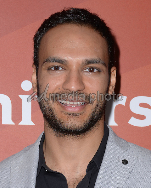 14 January  - Pasadena, Ca - Arjun Gupta. NBC Universal Press Tour Day 2 held at The Langham Huntington Hotel. Photo Credit: Birdie Thompson/AdMedia