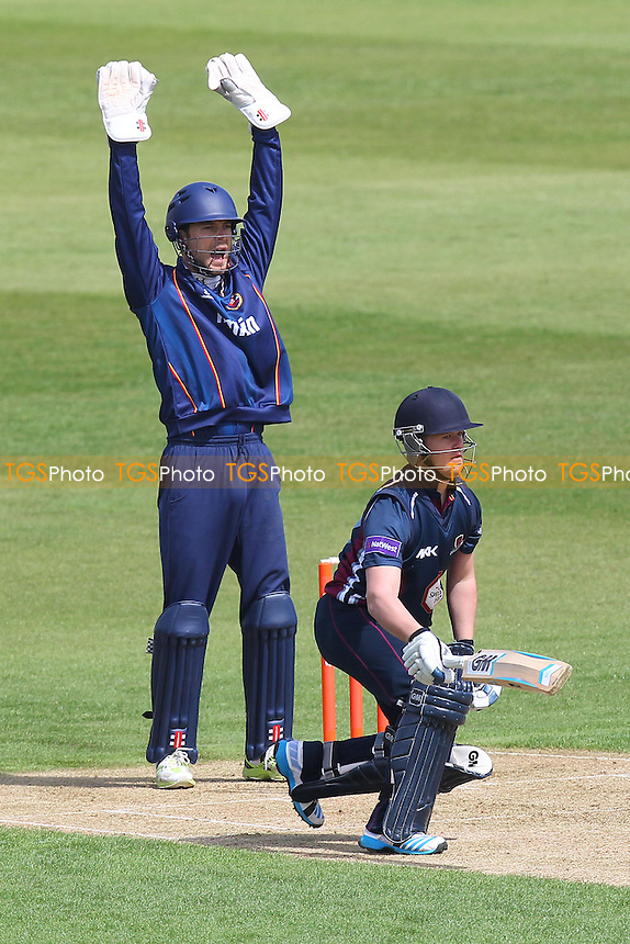 James Foster of Essex appeals for the wicket of Ben Duckett - Northamptonshire CCC 2nd XI vs Essex CCC 2nd XI - 2nd XI T20 Cricket at the County Ground, Northampton - 09/05/14 - MANDATORY CREDIT: Gavin Ellis/TGSPHOTO - Self billing applies where appropriate - 0845 094 6026 - contact@tgsphoto.co.uk - NO UNPAID USE