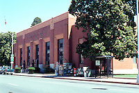"""Visalia CA: U.S. Post Office, 1932. James Wetmore and W.D. Coates. """"Most handsome monumental Moderne in California."""""""
