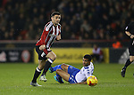 Danny Lafferty of Sheffield Utd during the English League One match at the Bramall Lane Stadium, Sheffield. Picture date: November 22nd, 2016. Pic Simon Bellis/Sportimage