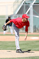 Jeremy Horst, Cincinnati Reds 2010 minor league spring training..Photo by:  Bill Mitchell/Four Seam Images.