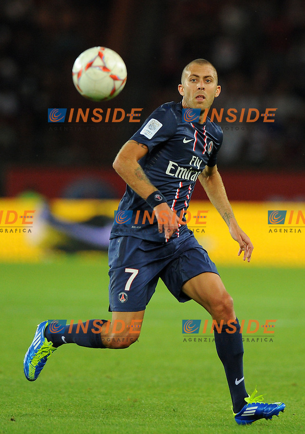 Jeremy Menez ( psg ) .Parigi 11/8/2012.Football Calcio 2012/2013 Ligue 1.PSG Lorient.Foto Insidefoto / Panoramic.ITALY ONLY