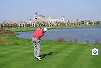 Graeme McDowell (NIR) tees off the 9th tee during Sunday's Final Round of the 2014 BMW Masters held at Lake Malaren, Shanghai, China. 2nd November 2014.<br /> Picture: Eoin Clarke www.golffile.ie