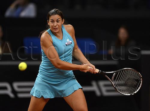 26.04.2012. Stuttgart, Germany.   Marion Bartoli FRA vs Mona Barthel ger Tennis women Porsche Tennis Grand Prix Stuttgart