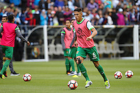 Seattle, WA - Tuesday June 14, 2016: Nelson Cabrera during a Copa America Centenario Group D match between Argentina (ARG) and Bolivia (BOL) at CenturyLink Field.