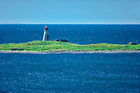 Peter Island Lighthouse in Bay of Fundy<br />