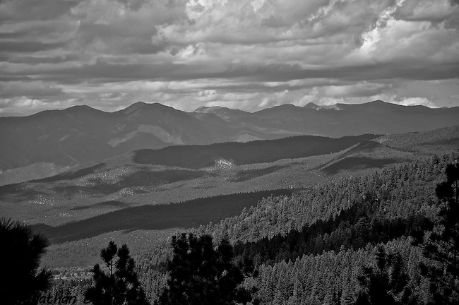 New Mexico Landscape, From the High Road