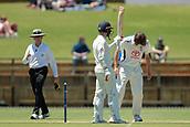 November 4th 2017, WACA Ground, Perth Australia; International cricket tour, Western Australia versus England, day 1; England Batsman Mark Stoneman reaches his fifty during his innings