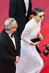 "70eme Festival International du Film de Cannes. Montee de la ceremonie de cloture, vues du toit du Palais . 70th International Cannes Film Festival. Vew from rof top of closing red carpet<br /> Mara, Rooney (""Patricia "")"