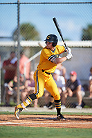 Andrew Compton during the WWBA World Championship at the Roger Dean Complex on October 18, 2018 in Jupiter, Florida.  Andrew Compton is a third baseman from Berkeley Heights, New Jersey who attends Governor Livingston High School and is committed to Georgia Tech.  (Mike Janes/Four Seam Images)