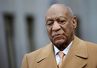 NORRISTOWN, PA - APRIL 12:  Bill Cosby at the Montgomery County Courthouse on the 4th day of his retrial for sexual assault charges on April 12, 2018 in Norristown, Pennsylvania. <br /> CAP/MPI/DVT<br /> &copy;DVT/MPI/Capital Pictures