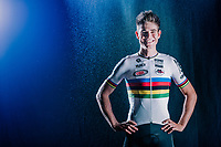 Official 2018/2019 portrait of cyclocross World Champion Wout van Aert (BEL)<br /> <br /> for his Cibel-Cebon Offroad Team<br /> <br /> photo by &copy;kramon<br /> october 2018