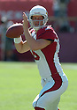 John Navarre, of the Arizona Cardinals, in action  during thier game against the Tennessee Titans on October 23, 2005...Titans win 10-0...Nils Nilson / SportPics