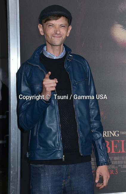 DJ Qualls  754 at the Annabelle Premiere at the TCL Chinese Theatre in Los Angeles.