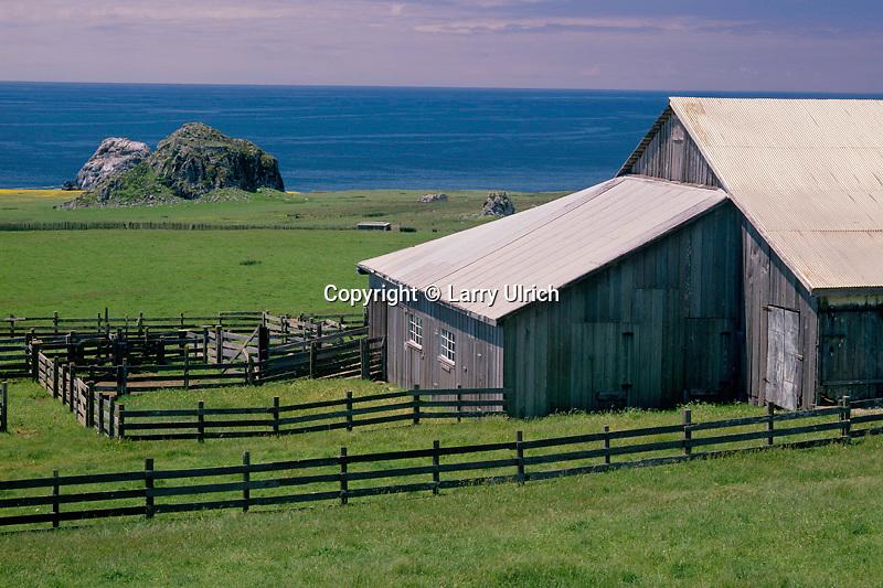 Ranch south of  the Russian River <br />   near Gull Rock <br /> Sonoma Coast State Beach <br /> Sonoma County,  California
