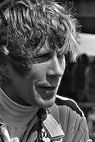 ANDERSTORP, SWEDEN - JUNE 13: James Hunt of Great Britain waits to drive his McLaren M23 8-2/Ford Cosworth during practice for the Grand Prix of Sweden FIA Formula 1 race at Scandinavian Raceway near Anterstorp, Sweden, on June 13, 1976.
