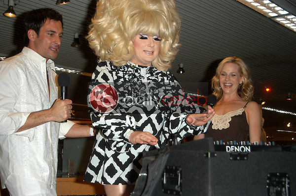 Lawrence Zarian, Lady Bunny and Julie Benz