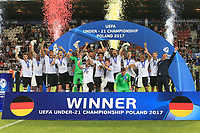 Cracovia (Polonia) 30-06-2017 Calciofinale Europeo Under 21 Polonia 2017 / Germania - Spagna / foto NewsPix/Image Sport/Insidefoto<br /> nella foto: Germania<br /> ITALY ONLY