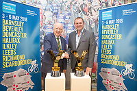 Picture by Alex Whitehead/SWpix.com - 28/09/2017 - Cycling - 2018 Tour de Yorkshire Preview - Start and Finish Towns Announcement. Sir Gary Verity.
