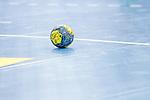Feature: Handball auf Spielfeld beim Spiel in der Handball Bundesliga, TVB 1898 Stuttgart - SC Magdeburg.<br /> <br /> Foto © PIX-Sportfotos *** Foto ist honorarpflichtig! *** Auf Anfrage in hoeherer Qualitaet/Aufloesung. Belegexemplar erbeten. Veroeffentlichung ausschliesslich fuer journalistisch-publizistische Zwecke. For editorial use only.