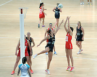 07.02.2017 Kelly Jury in action during the Wales v Silver Ferns netball test match at Swansea University at Ice Arena Wales. Mandatory Photo Credit ©Ian Cook/Michael Bradley Photography.
