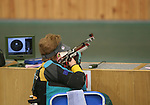 Australia's Libby Kosmala qualifies in second place in the rounds of the women's R2- 10m Air rifle Standing SH1 competition with a score of 390 (out of a possible 400).Libby went onto finish fourth in the final of this event.