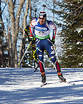 E.ON IBU World Cup Biathlon at the 10th Mountain Ski Center in Fort Kent Maine February 13, 2011.  Men's Mass Start winners were Martin Fourcade (France), Tomasz Sikora (Poland), Tarjei Boe (Norway). USA finisher Lowell Baley (9th),.