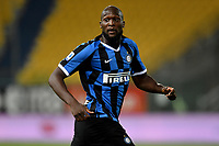Romelu Lukaku of FC Internazionale during the Serie A football match between Parma and FC Internazionale at stadio Ennio Tardini in Parma ( Italy ), June 28th, 2020. Play resumes behind closed doors following the outbreak of the coronavirus disease. <br /> Photo Andrea Staccioli / Insidefoto