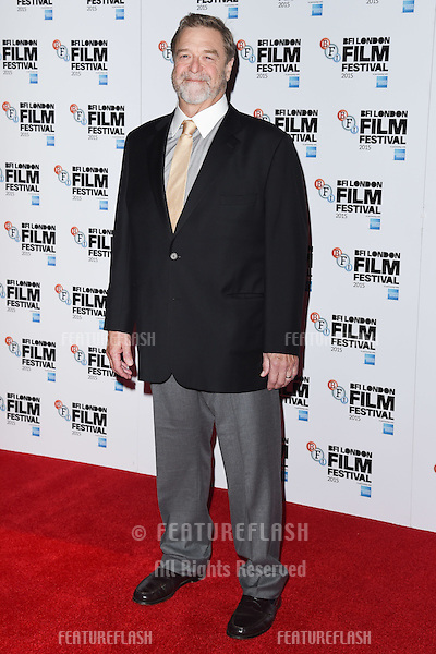 John Goodman at the photocall for &quot;Trumbo&quot; at the Corinthia Hotel, London.<br /> October 8, 2015  London, UK<br /> Picture: Steve Vas / Featureflash