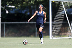 CARY, NC - JUNE 10: North Carolina Courage's Abby Erceg. The North Carolina Courage held a scrimmage against the CASL Red South U16 Boys team on June 10, 2017, at WakeMed Soccer Park Field 7 in Cary, NC.