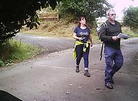 2019 07 05 Andrew Badder, Newcastle Emlyn in west Wales, UK
