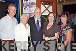 Kevin Tarrant, Eithne Tarrant, Padraig Kennelly, Helen O'Carroll and Judy Tarrant pictured at the opening of the Kerry Lives Exhibition in the Kerry county Museum on Friday evening.