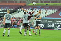 Sebastien Haller of West Ham United just can't reach the ball during West Ham United vs Charlton Athletic, Caraboa Cup Football at The London Stadium on 15th September 2020