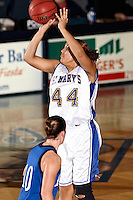 SAN ANTONIO, TX - DECEMBER 19, 2007: The Hillsdale College Chargers vs. the St. Mary's University Rattlers Women's Basketball at Bill Greehey Arena. (Photo by Jeff Huehn)