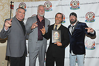LAS VEGAS, NV - MAY 02: Scott Hall, Kevin Nash, Shawn Michaels and Sean Waltman at the 2018 Cauliflower Alley Club Awards Banquet And Dinner at the Gold Coast Hotel & Casino in Las Vegas, Nevada on May 2, 2018. Credit: George Napolitano/MediaPunch